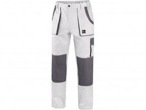 Kalhoty do pasu CXS LUXY JOSEF, pánské, bílo-šedé