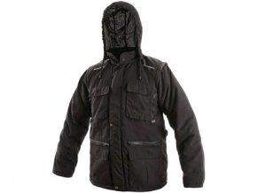 Pánská zimní bunda GEORGIA, černá