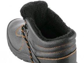 Obuv kotníková CXS STONE APATIT WINTER S3, zimní, černá
