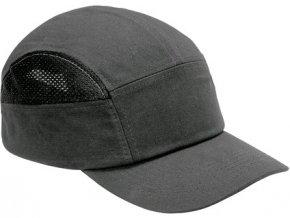 Čepice s plastovou výztuhou CXS SM923, šedá