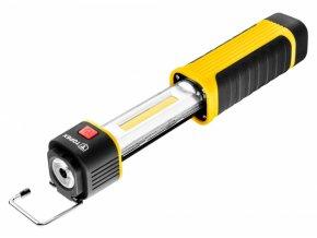svítilna ,vytahovací, k zavěšení 180Lm(3,5h), 4xAAA(není součástí) Topex