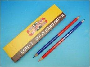 tužka dvoubarevná červeno-modrá