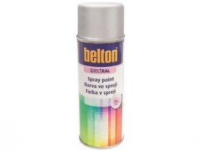 barva ve spreji BELTON RAL 9006, 400ml BÍ Al