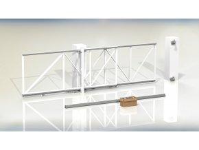 1418 cais follow me 4 25 sada komponentu pro teleskopickou branu prujezd 4 25m vaha 325kg