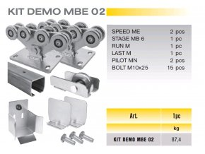 101 cais kit demo mbe 02 sada pro samonosnou branu do 8m prujezdu