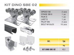 1037 cais kit dino sbe 02 sada pro samonosnou branu do 4 5m prujezdu