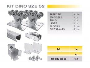 1043 cais kit dino sze 02 sada pro samonosnou branu do 4 5m prujezdu