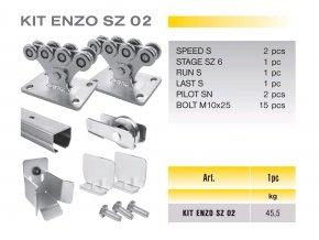 704 cais kit enzo sz 02 sada pro samonosnou branu do 4 5m prujezdu