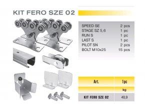 746 cais kit fero sze 02 sada pro samonosnou branu do 4m prujezdu vaha do 325kg