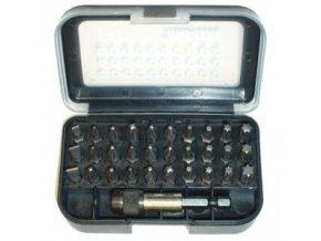 "Makita D-30667-12 sada bitů 1/4"" 31ks v plastové krabičce, 12 bal"