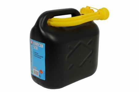 Kanystr plastový 5l - černý