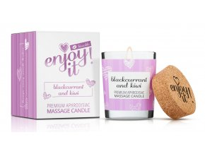 Masážní svíčka MAGNETIFICO Enjoy it! Blackcurrant and kiwi 1