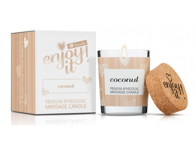 40268 masazni svicka magnetifico enjoy it coconut 1