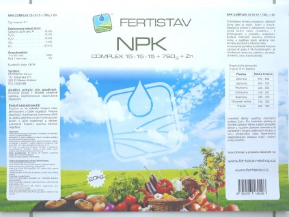 NPK15-15-15  (20 KG)