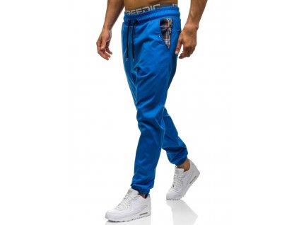 cze pl Modre panske jogger kalhoty Bolf 0449 47252 3