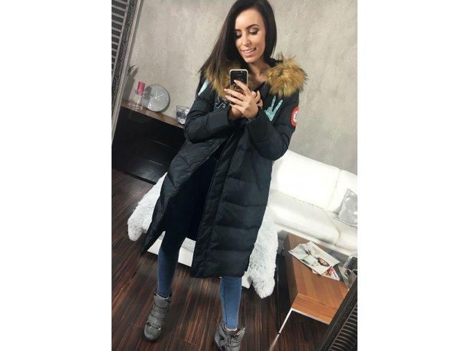 cze pl Cerna damska zimni bunda Bolf 8067 46838 5