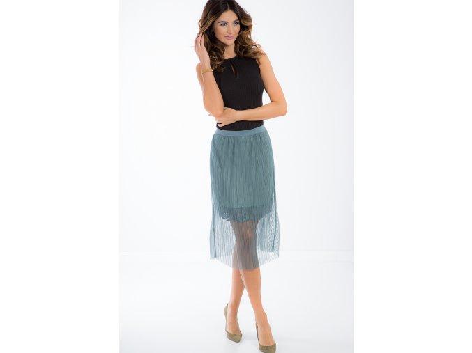 Námořní tylová sukně 21253 (Velikost S)
