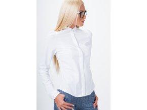 košile s krytými knoflíky bílá MP26020 (Velikost L)