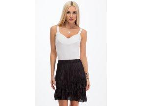 Černá sukně 11890 (Velikost L)