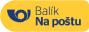 Česká pošta / Balík na poštu