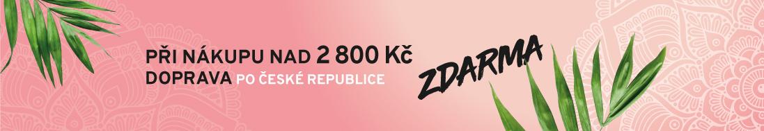 Při nákupu nad 2800 Kč DOPRAVA po ČR zdarma