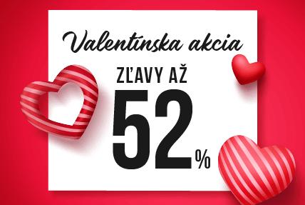 Valentínsky výpredaj