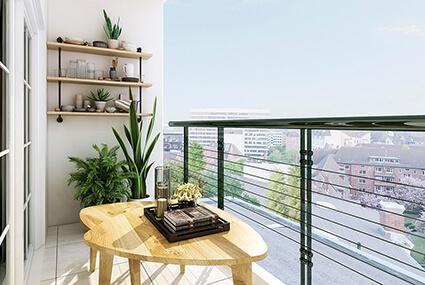 10 + 1 spôsobov využitia balkóna