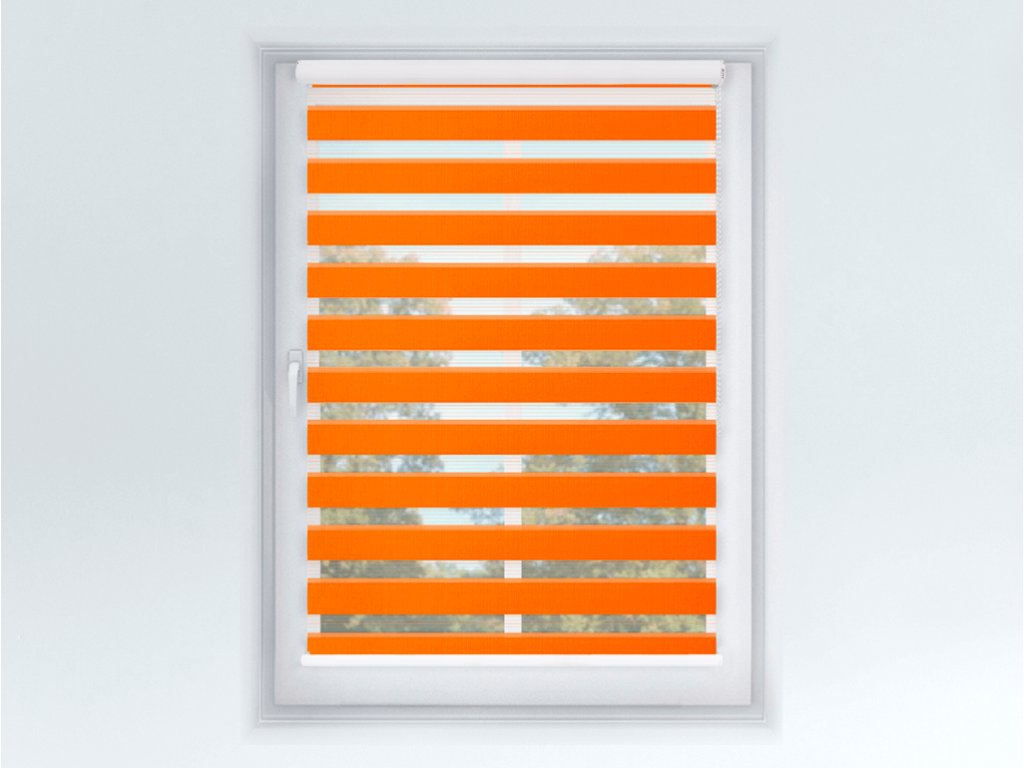 Roleta Den a noc MAXI, Origin slim mandarinka, A 033