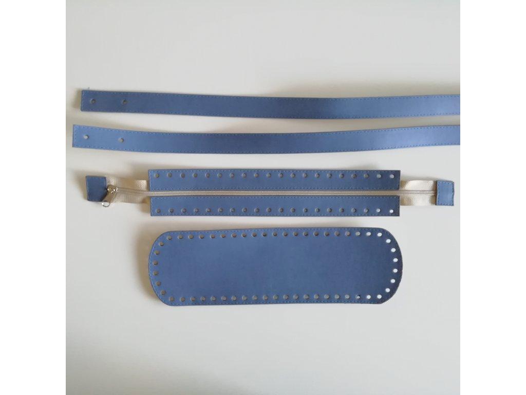 LEA12 Jeans modrá