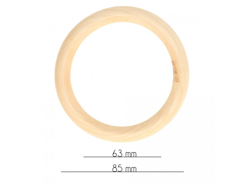 Drevený krúžok 56mm