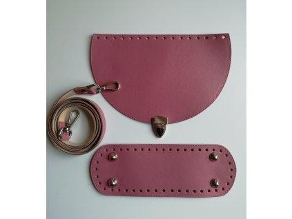 Set na kabelku Klara05 Antic pink