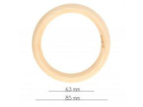 Drevený krúžok 34mm