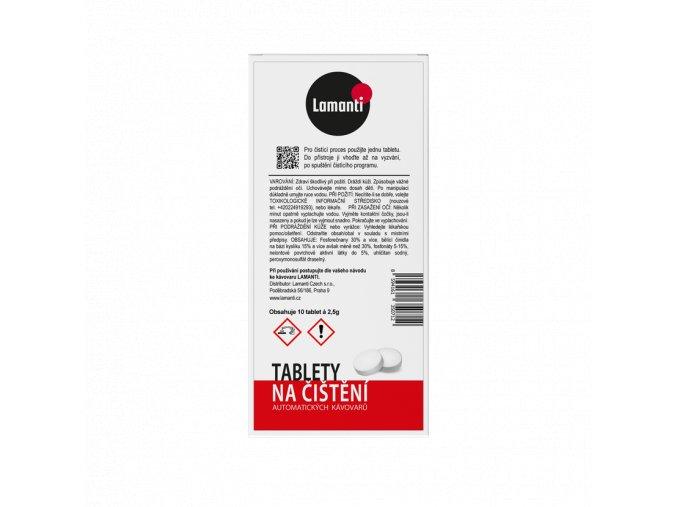 Lamanti Čistící tablety - 10 ks