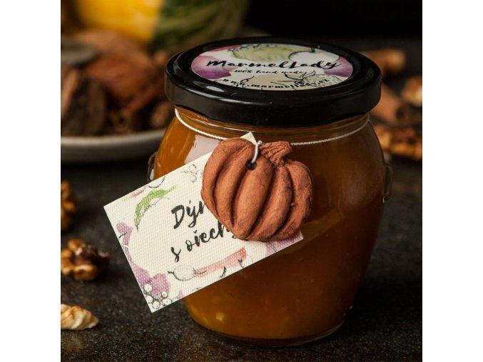 Výběrový džem: Dýně s ořechy a skořicí