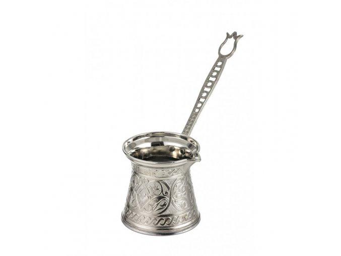 Džezva Tulipe stříbrná