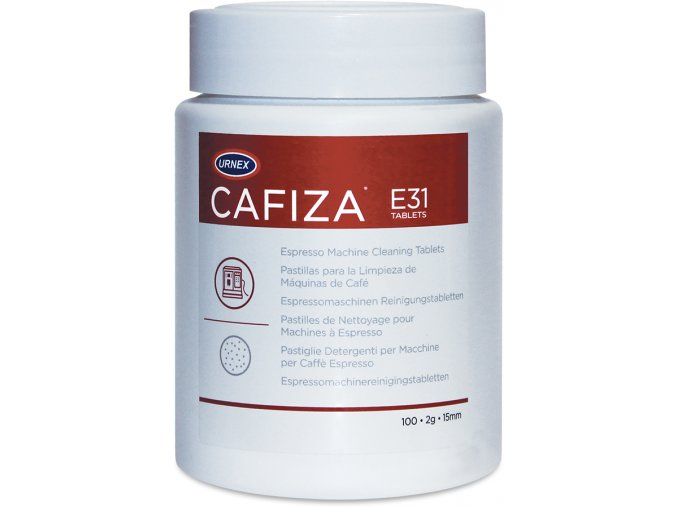 urnex commercial cafiza espresso machine cleaning tablets e31