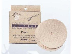 Papírové filtry pro Vacuum pot Hario TCA-3