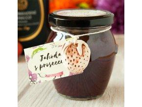 Výběrový džem: Jahody s proseccem