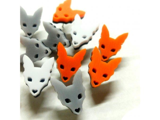 Lišky / náušnice