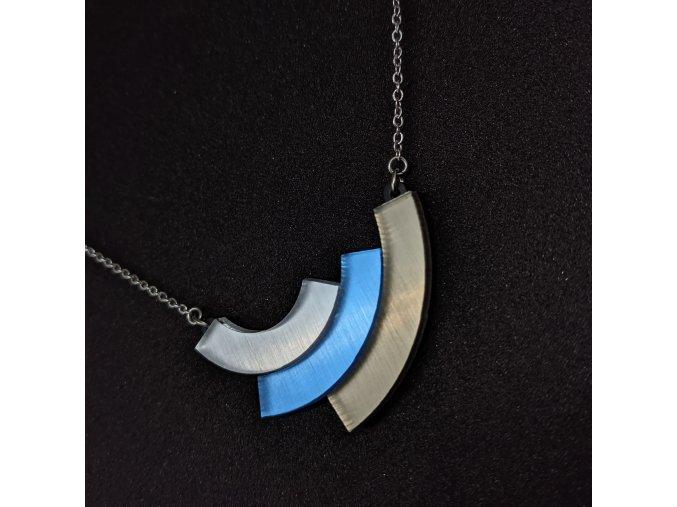 Rainbow - Pearl / náhrdelník