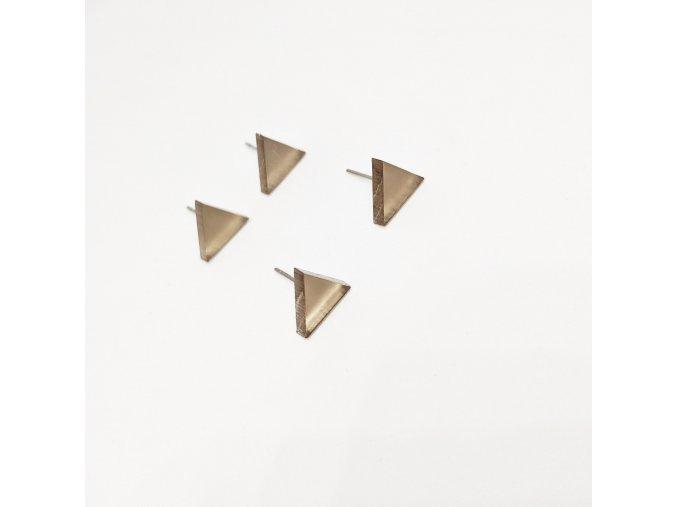 3úhelníky / náušnice