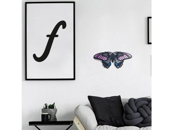 motýl / dekorace na zeď