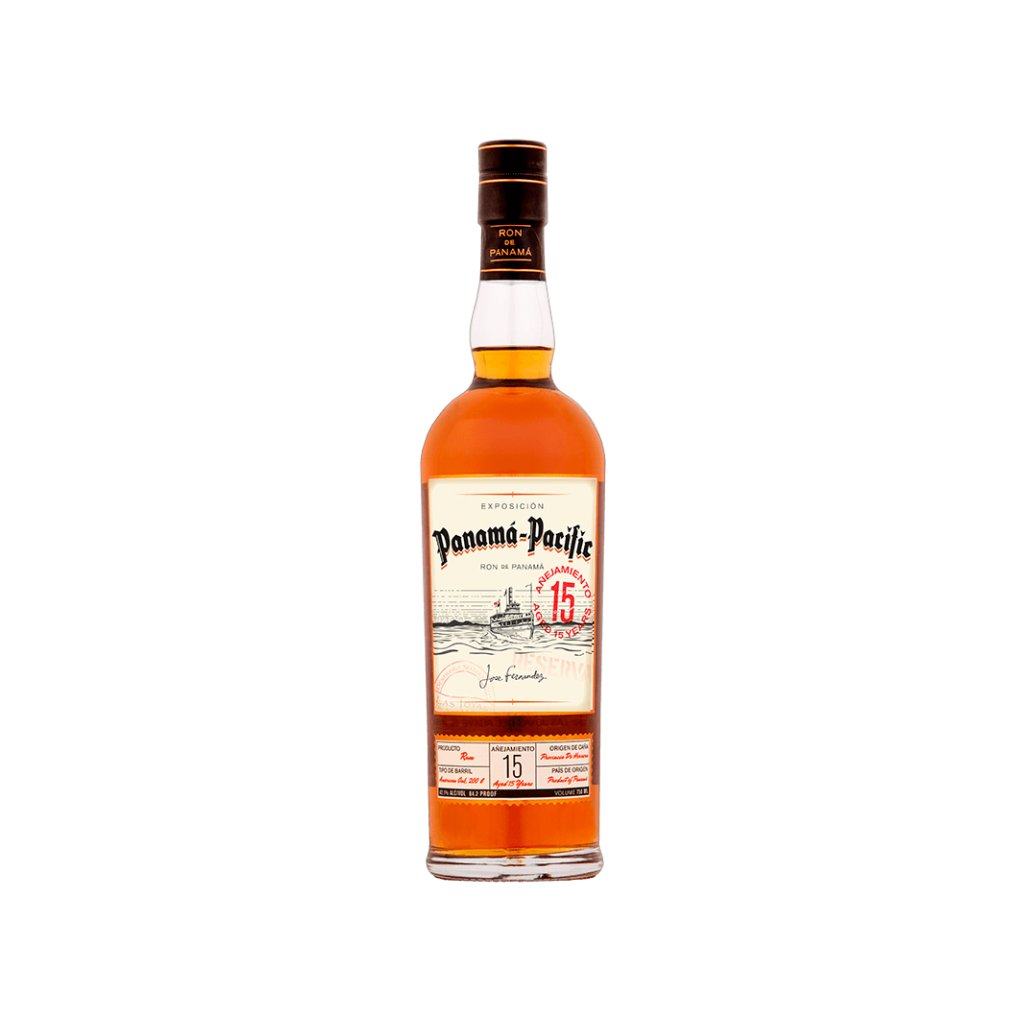 Panama Pacific Rum Aged 15 Years, 42,1% 0,7l