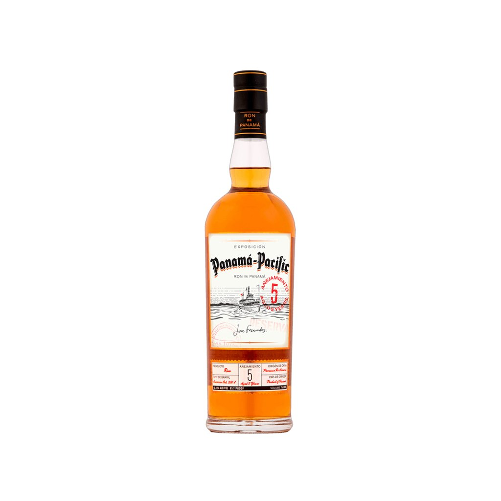 Panama Pacific Rum Aged 5 Years, 42,85% 0,7l