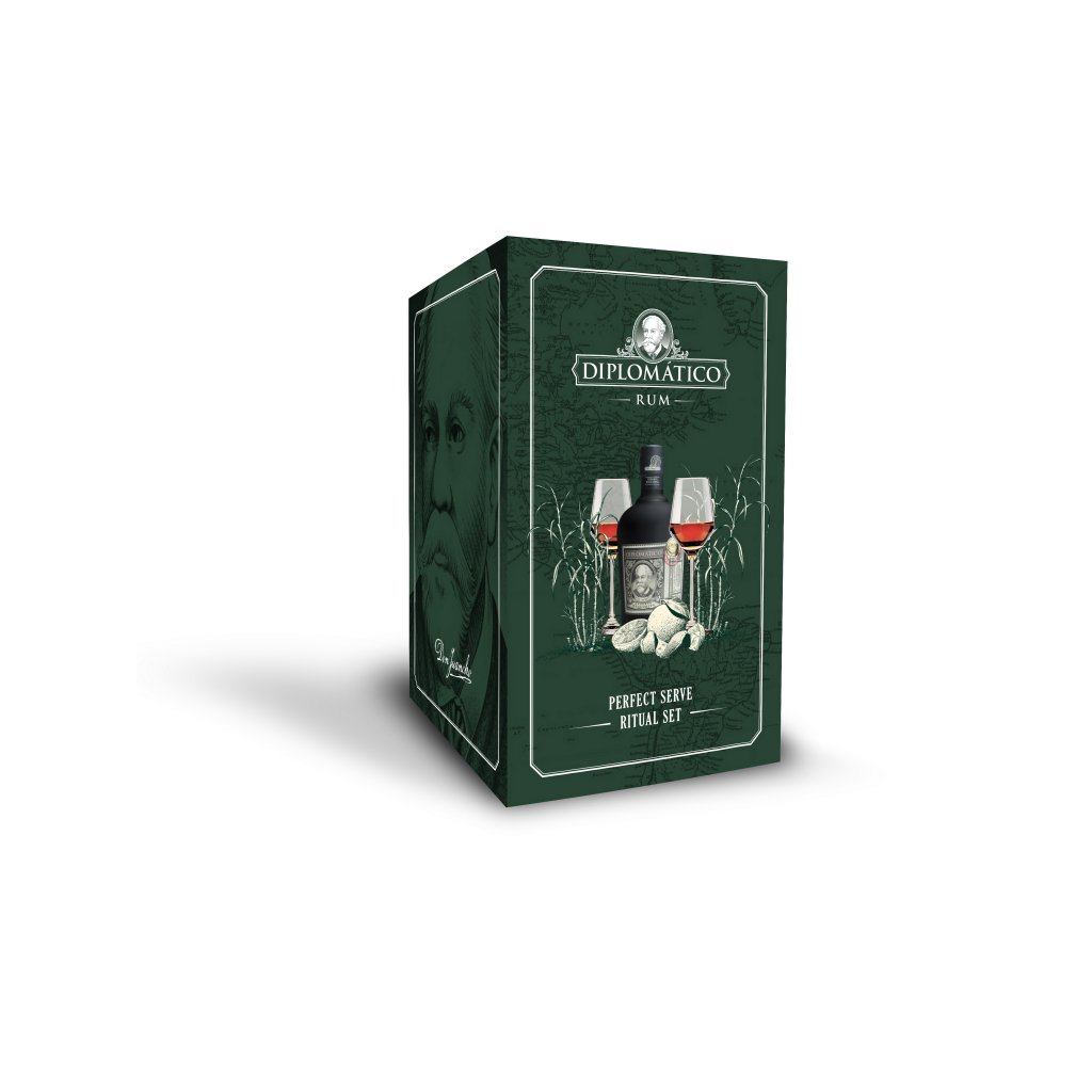 Diplomático Reserva Exclusiva Perfect Ritual Pack 0,7 l