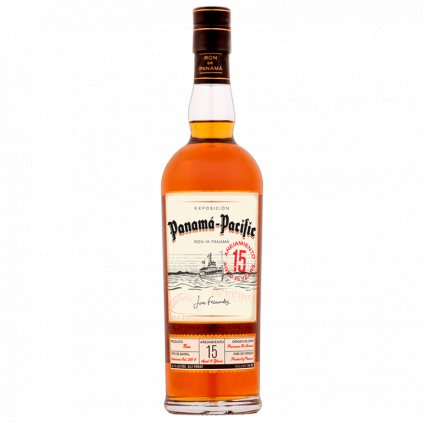 Panama Pacific Rum Aged 15 Years, 0,7l