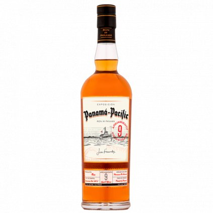 Panama Pacific Rum Aged 9 Years, 47,3% 0,7l