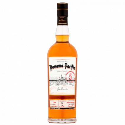 Panama Pacific Rum Aged 5 Years, 0,7l