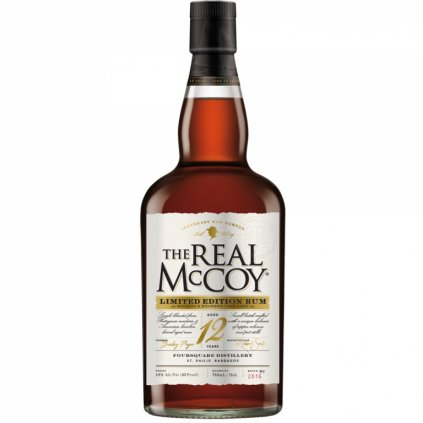 The Real McCoy Limited Edition 46% 12yo 0,7 l