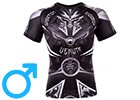 Men's Rashguards - Short Sleeves - for MMA